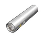 TORCH LED 165 LUMEN RECHARGE S/S P60 POP