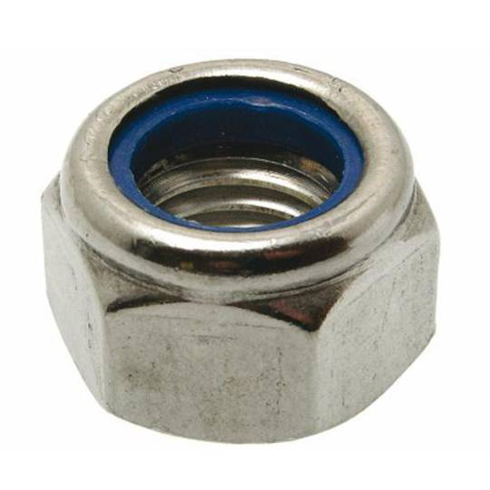 NYLOC NUT 3/8 UNF 304 STAINLESS STEEL