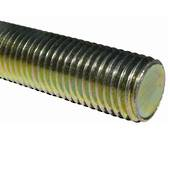 THREADED ROD 1 UNC ZINC G5
