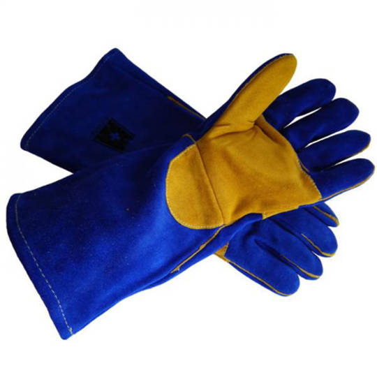 GLOVES WELDING BLUE KEVLAR PREMIUM