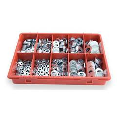ASSORTMENT WASHER FLAT TRADE PACK  650pc