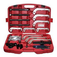 PULLER KIT HYDRAULIC 21pc GENIUS