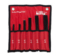 PUNCH & CHISEL SET 6pc TOLEDO
