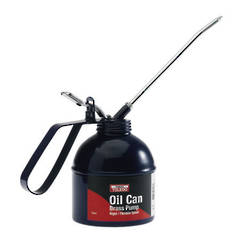 OIL CAN 200ml BRASS PUMP TOLEDO