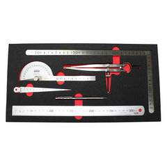 MEASURING SET 6 pc TOLEDO