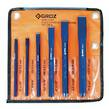 PUNCH SET COLD CHISEL 6pc GROZ