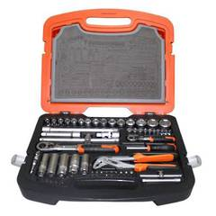 SOCKET & TOOL SET 83pc TACTIX