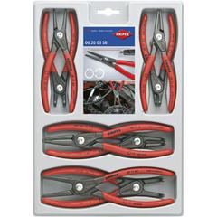 PLIER CIRCLIP SET 8pc KNIPEX