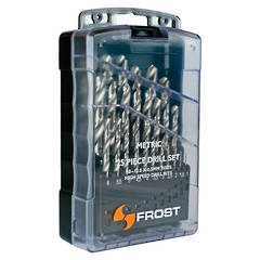 DRILL SET 1-13mm 25pc FROST