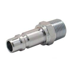 CONNECTOR 1/2 BSP MALE ARO 300405
