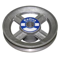 ALUMINIUM PULLEY 2 OD x 5/8 Bore