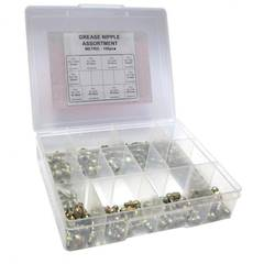 ASSORTMENT GREASE NIPPLE IMPERIAL 100pc