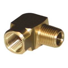ELBOW 1/4M x 1/4F BRASS