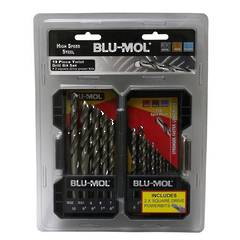 DRILL SET 1-6mm 11pc BLU-MOL
