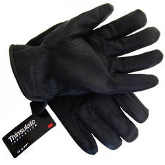 GLOVES RIGGER BLACK JERSEY LINED