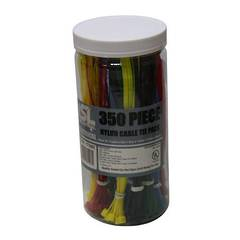 CABLE TIES ASSORTMENT 350pk