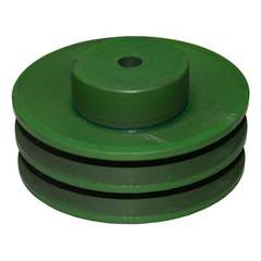 7 DOUBLE A SECTION CAST PULLEY
