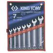 WRENCH R&OE SET 10-19mm  7pc KING TONY