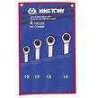 WRENCH RATCHET SET 10-14mm KING TONY