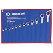 WRENCH RATCHET SET 12pc METRIC KING TONY