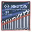WRENCH R&OE SET 1/4-15/16 11pc KING TONY