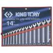 WRENCH R&OE SET 10-32mm 14pc KING TONY