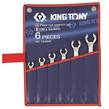 WRENCH FLARE NUT SET METRIC 6pc KING TON