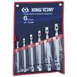 WRENCH SET 6pc DBL SWIVEL END SKT  KTONY