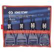 PLIER CIRCLIP SET 180mm 4pc KING TONY