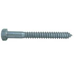 COACH SCREW M12 x 50 GALV