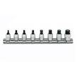 SOCKET SET INHEX 1/4 1/8-3/8 ON RAIL