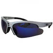 SAFETY GLASSES RADI-COOL BLUE MIRROR