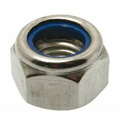 NYLOC NUT M6 304 STAINLESS STEEL