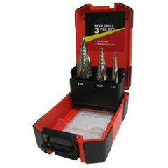 DRILL STEP SET 3pc BLU-MOL