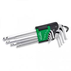 HEX KEY SET LONG SAE BP TOPTUL