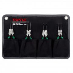 PLIER CIRCLIP SET 4pc TOPTUL