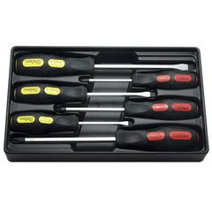 SCREWDRIVER SET 6pc HEAVY DUTY KOKEN