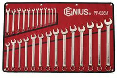 WRENCH R&OE SET 6-32mm 26pc GENIUS
