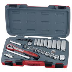 SOCKET SET 1/2 35pc IMPERIAL REG/DEEP TE